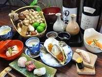 和食コースのある日のメニュー