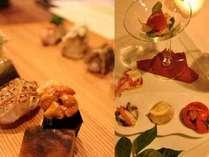 お夕食は洋食と和食(追加料金あり)を選べる