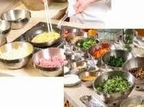 ◎朝食は種類豊富な洋食 又は 和食の朝食バイキング