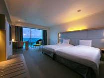 ■ツイン・モデレート■35平米 <南国の気候と海>を楽しむシンプルな空間。