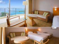 ■ツイン・イーストウィングA■43平米 ご家族にもおすすめ♪快適さにこだわった<新館客室>