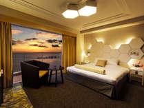 【EW館リノベーション★キングベッド】寛ぎながら海を眺めるコンセプト。極上の寛ぎを体感する