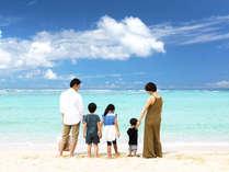 【トロピカルビーチ】徒歩10分程度でビーチ♪公園やトイレもあるのでファミリーでも安心♪