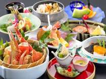【夏季限定★1500円OFF】特別価格◆かに三昧の和食会席『北海道味紀行』