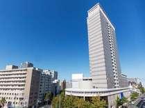 地上90m25階建てのマイステイズプレミア札幌パーク