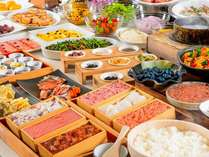 ◆3種類から選べる朝食◆ 60種類以上の和洋バイキング(イメージ)