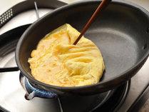 ◆リモネ朝食◆シェフが目の前で調理するふわふわオムレツ♪