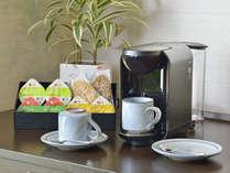 【ナチュラルコンフォート】本格ドリップコーヒーとホテル特製リーフパイをお部屋で。