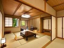 ■10+6畳のお部屋の一例。隣り合わせに同じタイプのお部屋がもう1室あります。