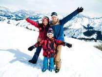 *【スキー】<NASPAスキーガーデン(12~4月頃迄/徒歩0分)>家族で楽しめるスキー専用ゲレンデ