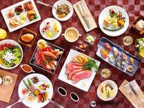【夕食】OsDining:ビュッフェ/和・洋・スイーツをお好きなものをお好きなだけ、どうぞ
