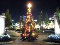 巨大なクリスマスツリー♪