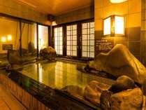 ◆男性大浴場 内湯40~41℃設定でございます。