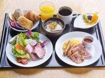 朝食セットメニュー(洋食)※一例