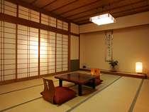 ★客室一例★純和風のお部屋でおくつろぎ下さい。