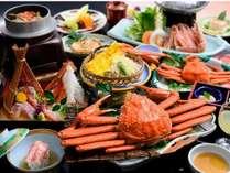 【料理自慢】冬の王様『蟹づくし会席』ボリューム満点☆蟹刺し付…