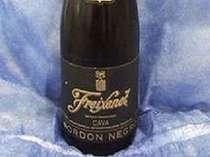 カップルプラン特典 スパークリングワイン