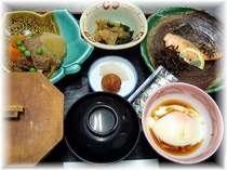 焼魚(鯵・鮭・かます・鯖など)、煮物(肉じゃが・筑前煮など)、卵料理など。食後ドリンク付。,愛媛県,ターミナルホテル東予