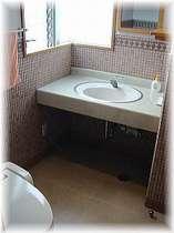 デラックスシングル・ダブルルームのトイレ・洗面スペース。女性にはうれしい!広々タイプ。,愛媛県,ターミナルホテル東予