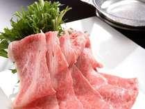 【夕食】岩手牛しゃぶしゃぶ