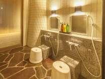 リニューアル貸切風呂「わが湯」洗い場