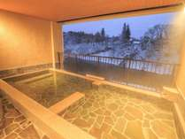 リニューアル滝美の湯、渓流露天風呂