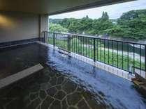 リニューアルOPEN!滝美の湯、渓流露天風呂