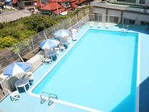 ■お子様にも安心な深さの屋外プール♪(夏季限定)