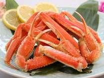 ■迫力のバイキングと共にずわい蟹も食べ放題で満喫!