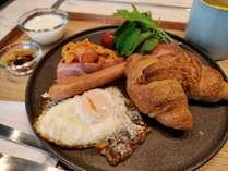 ご朝食 洋食プレート ¥800