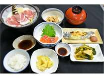 【冬の夕食】一例※夕食は毎日変わります。