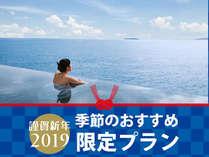 【新春大特価】2019年最初のお得なプラン!