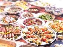 【10月復活】週末限定!夕食バイキング開催決定★グレードアップした約30種類のお料理をご堪能下さい!