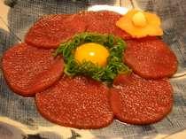 山のマグロ臭みのないとろける美味しさのお肉です。