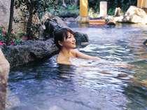 【花てらす】外湯感覚の露天風呂でゆったりとくつろぎの時間