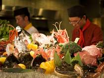 【餐火讃花】新鮮な食材を多彩に取り揃えております。お好みで1品選べる食材(一例)
