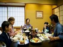 【ファミリー】周囲を気にせずにゆっくり楽しむご夕食♪
