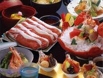 料理長自慢の旬の会席料理に舌つづみ~季の彩り会席(一例)