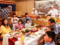 【夏休み】客前料理食べ放題+じゅうじゅう焼会席