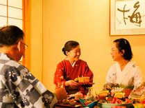 【個室食】紅梅亭のおもてなしで旬の味覚に舌鼓。