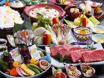 秋の彩り美味三昧会席(一例)