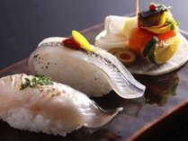 【ご夕食イメージ】新鮮な瀬戸内の魚介は、歯応えで違いがわかります。