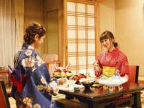 【個室食】大切な人との会話を楽しむのなら、誰にも邪魔されない個室食がおすすめです。
