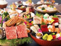 【レストラン食‐<神楽>グレードUP会席】<讃岐牛&アワビorロブスター>を香ばしく薫る石焼きで