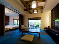 客室一例(客室は離れそれぞれに雰囲気が異なります)