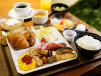 【朝食バイキング】盛り付け一例