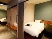 【キャビン型客室】シモンズのベッドを設置。上質な睡眠をご体験ください。