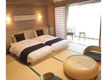 元禄館 和室 10畳 ツインベッド