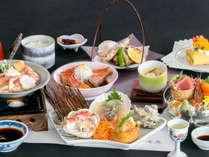 【彩り膳一例】料理長厳選の和食膳をぜひご賞味ください。