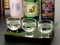お料理と共に美味しい日本酒もお楽しみください。